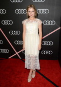 Actress Rose McIver attends Golden Globes Weekend Audi Celebration at Cecconi's on January 9 2014 in Beverly Hills California