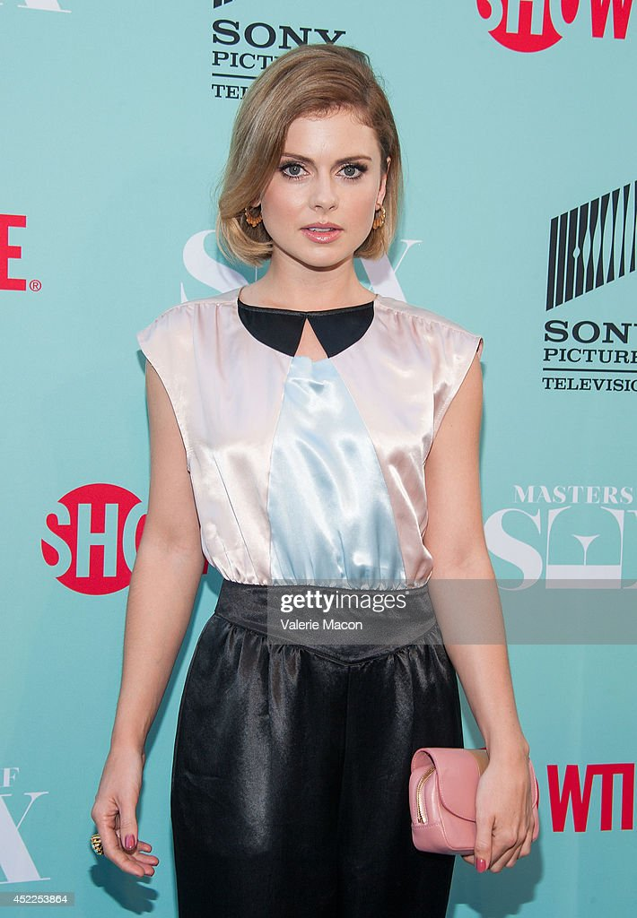 Actress <a gi-track='captionPersonalityLinkClicked' href=/galleries/search?phrase=Rose+McIver&family=editorial&specificpeople=6539142 ng-click='$event.stopPropagation()'>Rose McIver</a> attends Showtime's 'Masters Of Sex' Season 2 - 2014 Summer TCA Press Tour Event at Sony Pictures Studios on July 16, 2014 in Culver City, California.
