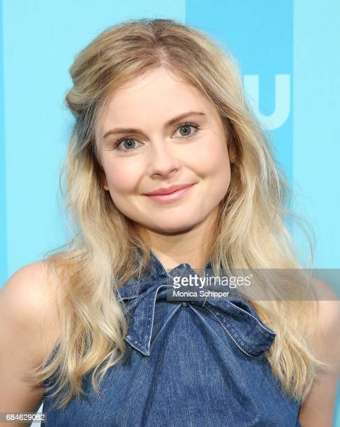 Actress Rose McIver attends the 2017 CW Upfront on May 18 2017 in New York City