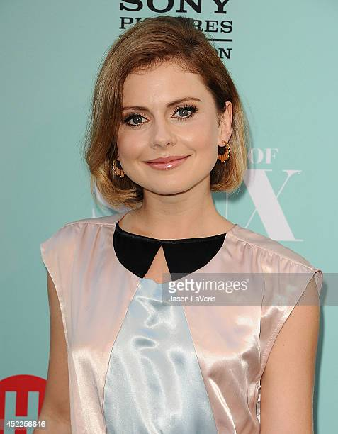 Actress Rose McIver attends the 'Masters Of Sex' TCA event at Sony Pictures Studios on July 16 2014 in Culver City California