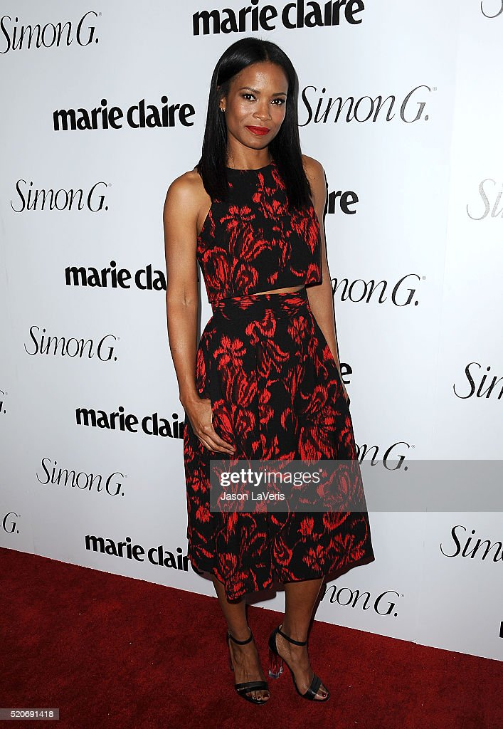 Actress Rose Rollins attends the Marie Claire Fresh Faces party at Sunset Tower Hotel on April 11 2016 in West Hollywood California