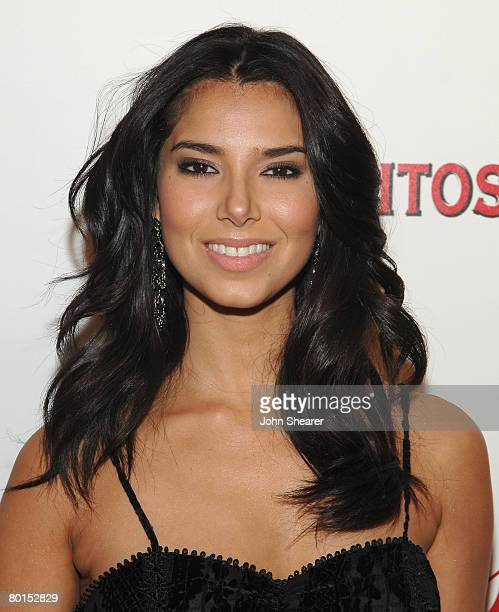 Actress Roselyn Sanchez arrives to the opening of Beso Restaurant sponsored by Hornitos tequila on March 6 2008 in Hollywood California