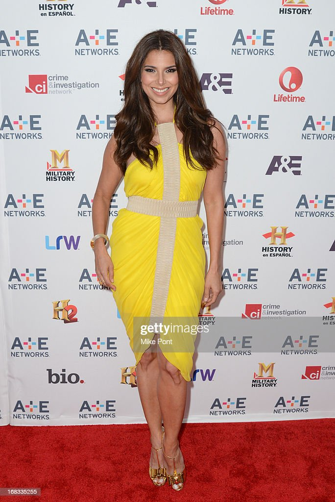 Actress Roselyn Sanchez attends A+E Networks 2013 Upfront at Lincoln Center on May 8, 2013 in New York City.