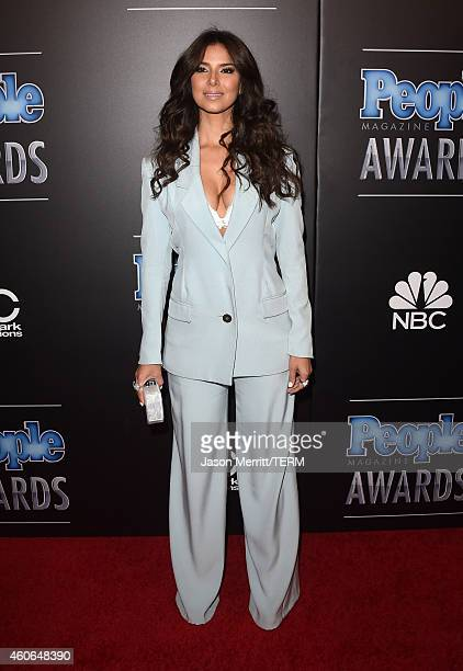 Actress Roselyn Sanchez attends the PEOPLE Magazine Awards at The Beverly Hilton Hotel on December 18 2014 in Beverly Hills California