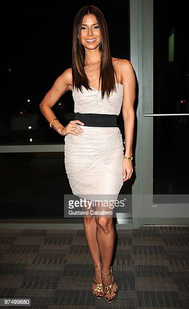 ** EXCLUSIVE ** Actress Roselyn Sanchez attends the VIP Pasta Cocktail for the Roselyn Sanchez Triathlon for Life on March 6 2010 in San Juan Puerto...