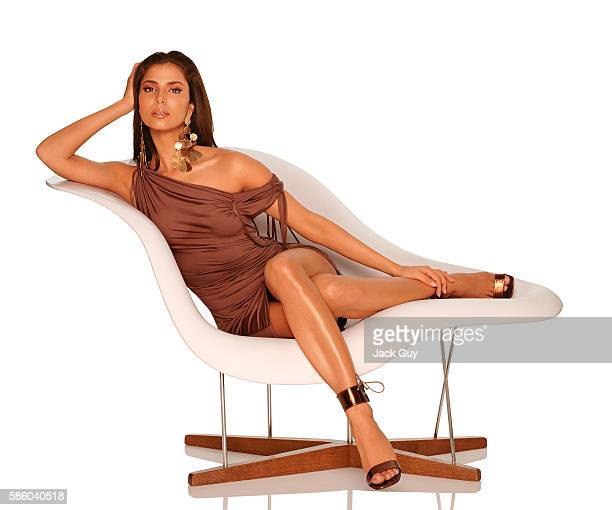 Actress Roselyn Sanchez is photographed for Latina Magazine in 2003