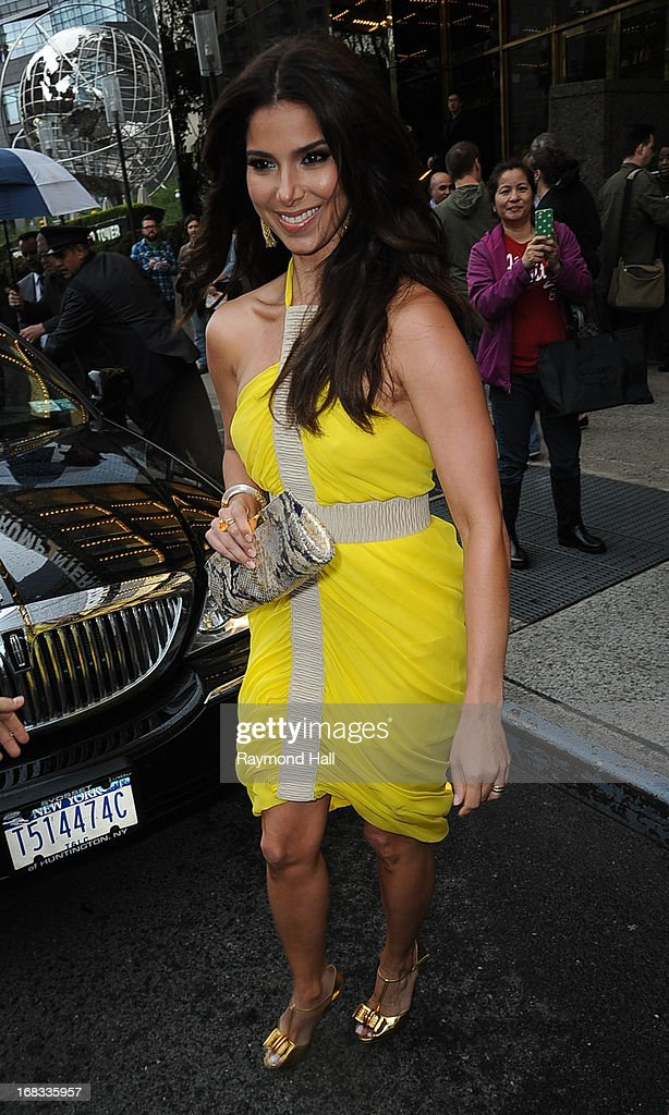 Actress Roselyn Sanchez is seen outside her hotel on May 8, 2013 in New York City.