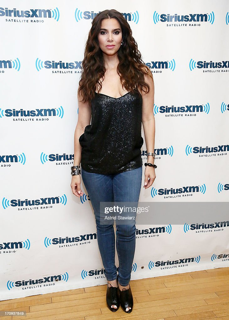 Actress Roselyn Sanchez visits the SiriusXM Studios on June 20, 2013 in New York City.