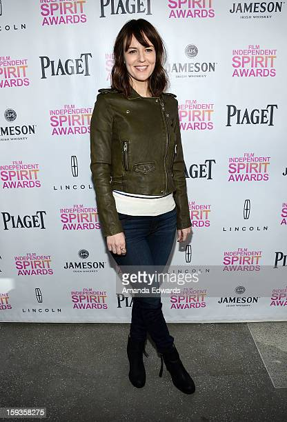 Actress Rosemarie DeWitt arrives at the 2013 Film Independent Filmmaker Grant And Spirit Awards Nominees Brunch at BOA Steakhouse on January 12 2013...
