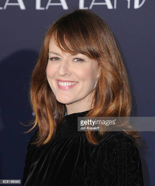 Actress Rosemarie DeWitt arrives at the Los Angeles Premiere 'La La Land' at Mann Village Theatre on December 6 2016 in Westwood California