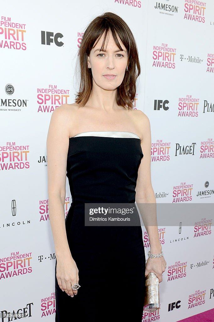 Actress Rosemarie DeWitt arrives with Jameson prior to the 2013 Film Independent Spirit Awards at Santa Monica Beach on February 23, 2013 in Santa Monica, California.