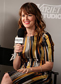 Actress Rosemarie DeWitt attends day 2 of the Variety Studio presented by Moroccanoil at Holt Renfrew during the 2014 Toronto International Film...