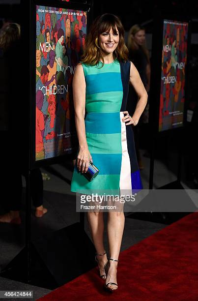Actress Rosemarie DeWitt attends Paramount Pictures' 'Men Women Children' premiere at Directors Guild Of America on September 30 2014 in Los Angeles...