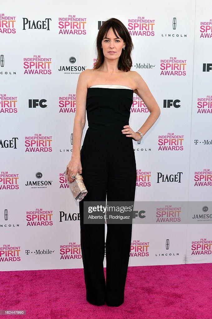 Actress Rosemarie DeWitt attends the 2013 Film Independent Spirit Awards at Santa Monica Beach on February 23, 2013 in Santa Monica, California.