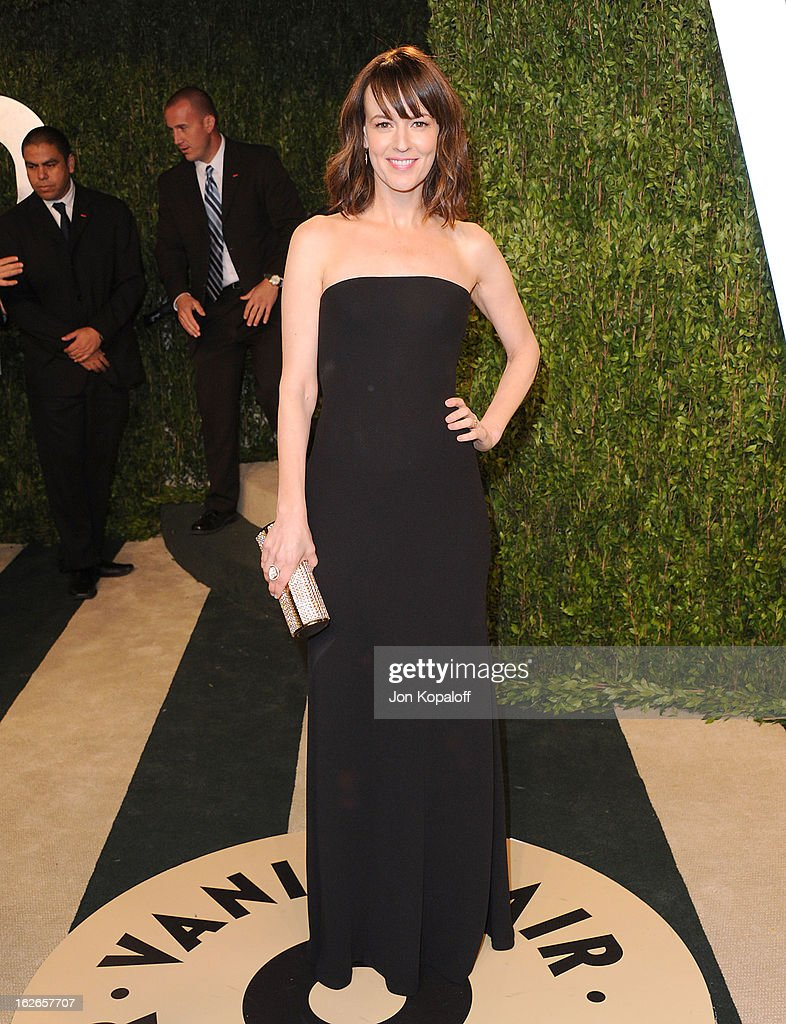 Actress Rosemarie DeWitt attends the 2013 Vanity Fair Oscar party at Sunset Tower on February 24, 2013 in West Hollywood, California.