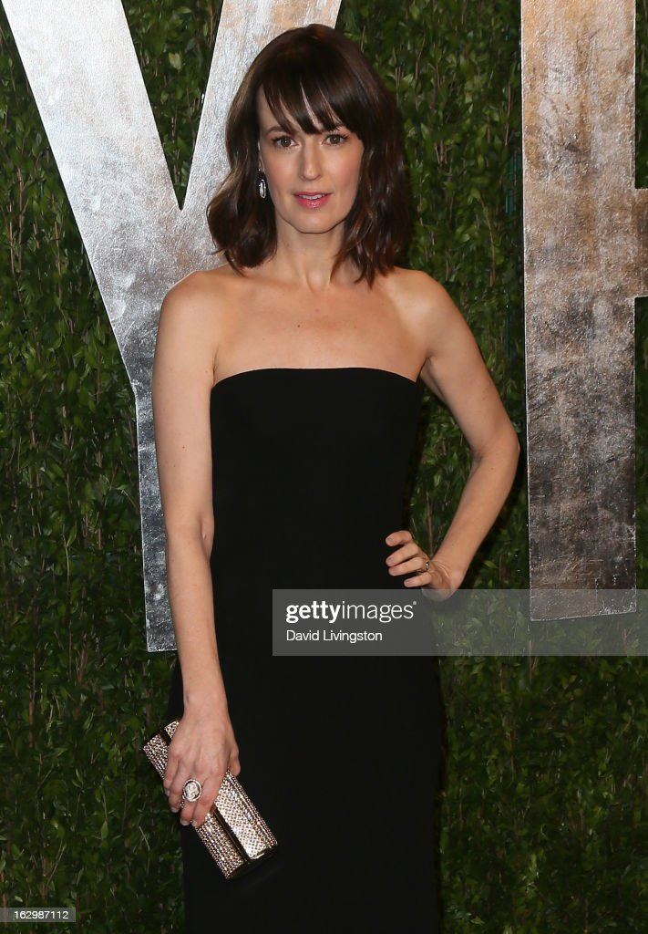 Actress Rosemarie DeWitt attends the 2013 Vanity Fair Oscar Party at the Sunset Tower Hotel on February 24, 2013 in West Hollywood, California.