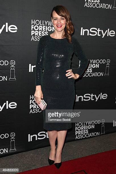 Actress Rosemarie DeWitt attends the HFPA InStyle's 2014 TIFF celebration at the 2014 Toronto International Film Festival at Windsor Arms Hotel on...