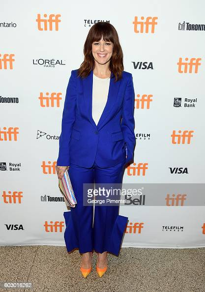 Actress Rosemarie DeWitt attends the 'Jackie' premiere during the 2016 Toronto International Film Festival at Winter Garden Theatre on September 11...