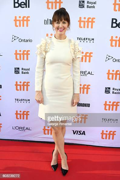 Actress Rosemarie DeWitt attends the 'La La Land' premiere during the 2016 Toronto International Film Festival at Princess of Wales Theatre on...
