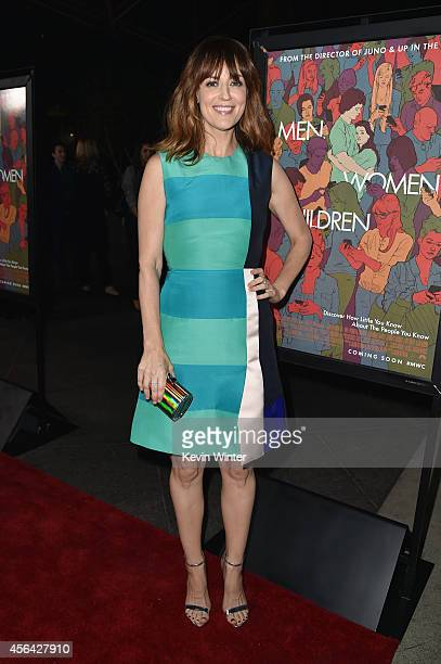 Actress Rosemarie DeWitt attends the Los Angeles premiere of Paramount Pictures' 'MEN WOMEN CHILDREN' at the Directors Guild Of America on September...