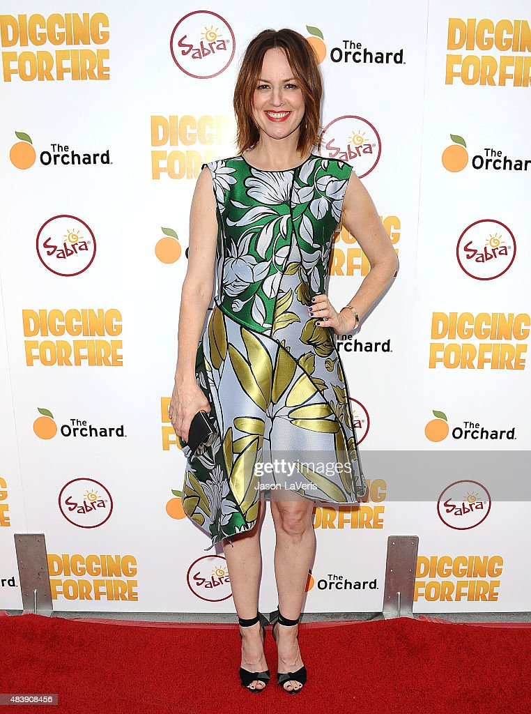 Actress Rosemarie DeWitt attends the premiere of 'Digging For Fire' at ArcLight Cinemas on August 13 2015 in Hollywood California