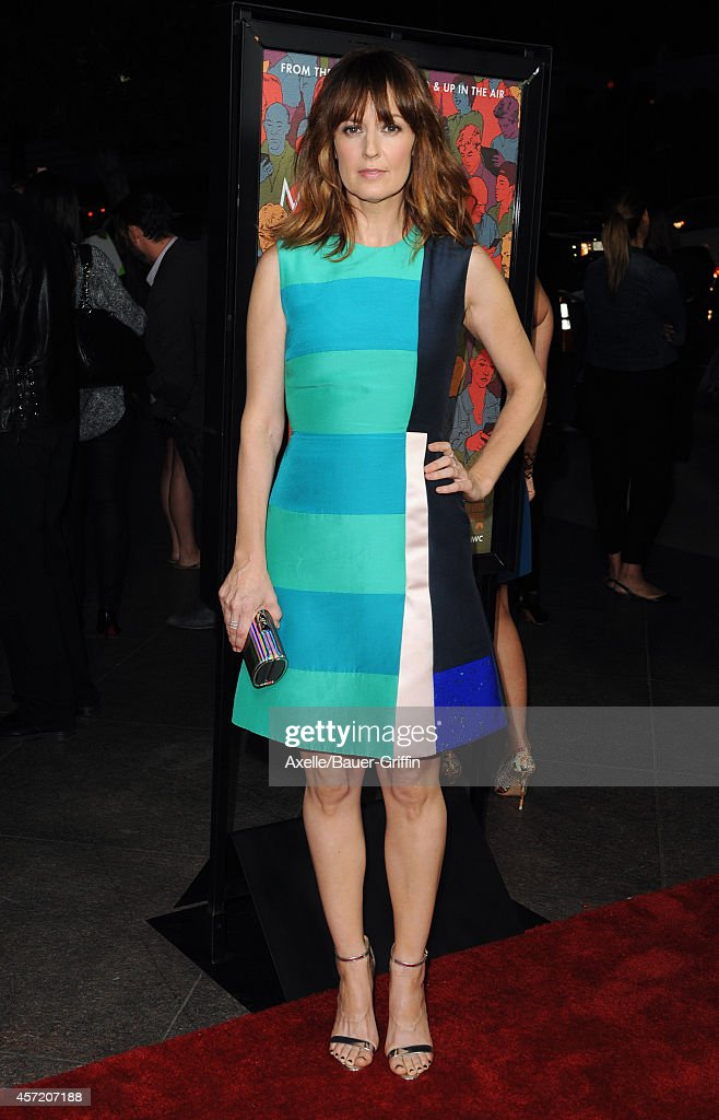 Actress Rosemarie DeWitt attends the premiere of 'Men Women and Children' at DGA Theater on September 30 2014 in Los Angeles California