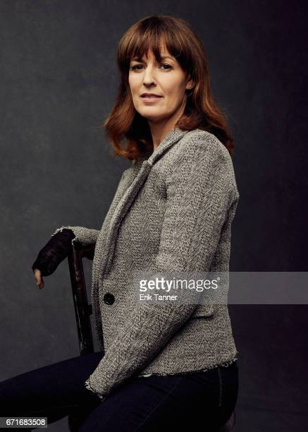 Actress Rosemarie Dewitt from 'Sweet Virginia' poses at the 2017 Tribeca Film Festival portrait studio on on April 22 2017 in New York City