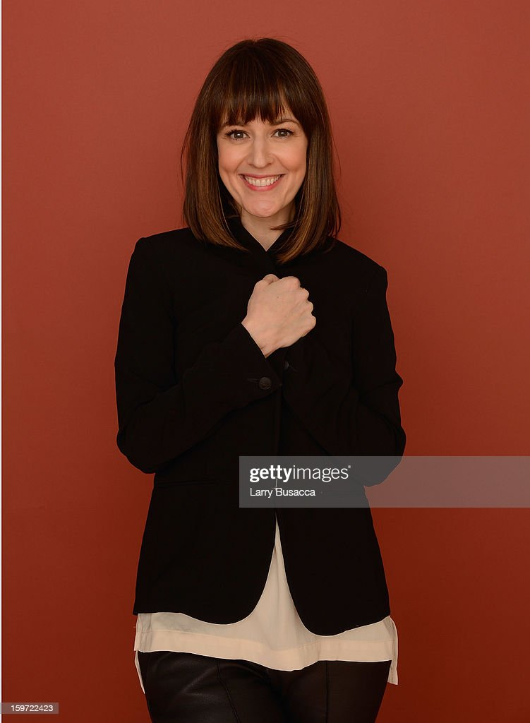 Actress Rosemarie DeWitt poses for a portrait during the 2013 Sundance Film Festival at the Getty Images Portrait Studio at Village at the Lift on January 19, 2013 in Park City, Utah.