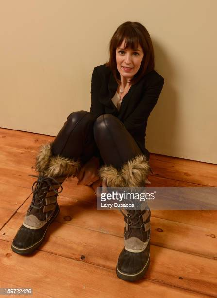 Actress Rosemarie DeWitt poses for a portrait during the 2013 Sundance Film Festival at the Getty Images Portrait Studio at Village at the Lift on...