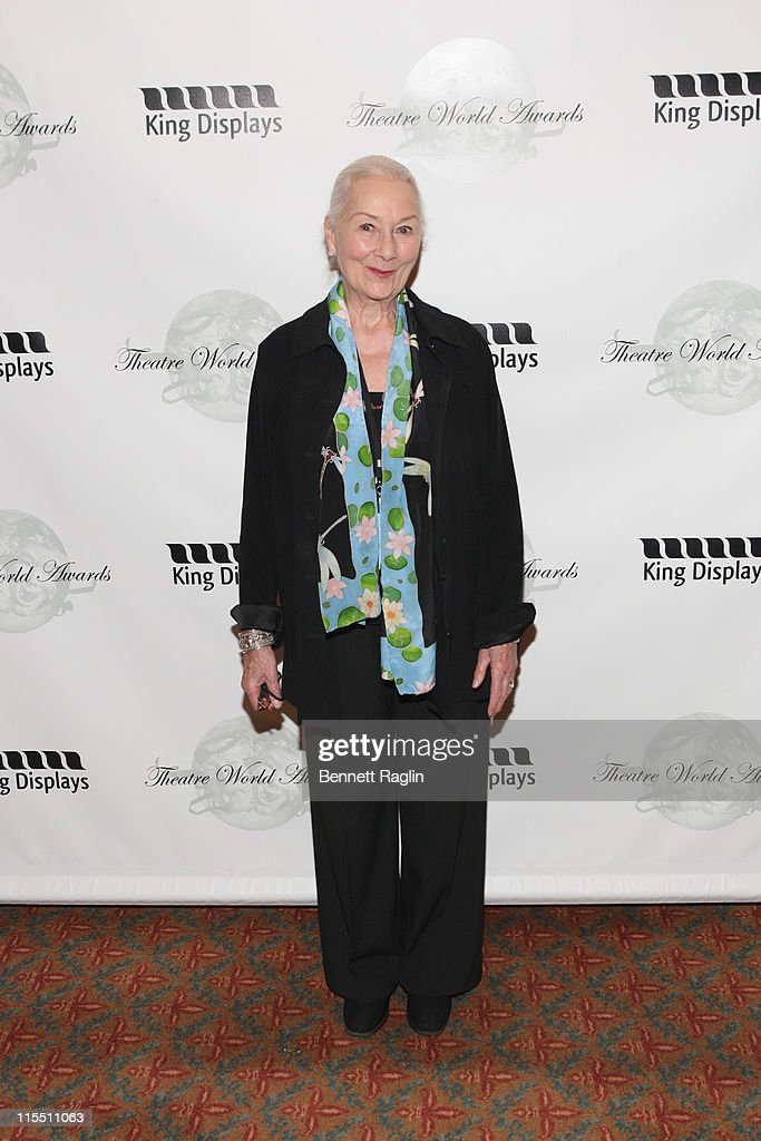 Actress <a gi-track='captionPersonalityLinkClicked' href=/galleries/search?phrase=Rosemary+Harris&family=editorial&specificpeople=840453 ng-click='$event.stopPropagation()'>Rosemary Harris</a> attends the 67th annual Theatre World Awards Ceremony at the August Wilson Theatre on June 7, 2011 in New York City.