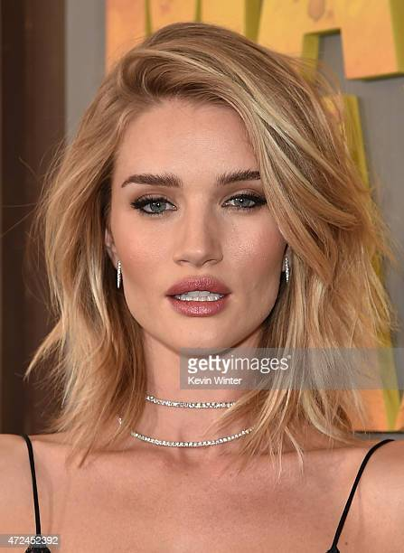 Actress Rosie HuntingtonWhiteley attends the premiere of Warner Bros Pictures' 'Mad Max Fury Road' at TCL Chinese Theatre on May 7 2015 in Hollywood...