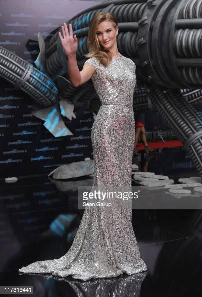 Actress Rosie HuntingtonWhiteley attends the 'Transformers 3' European premiere on June 25 2011 in Berlin Germany