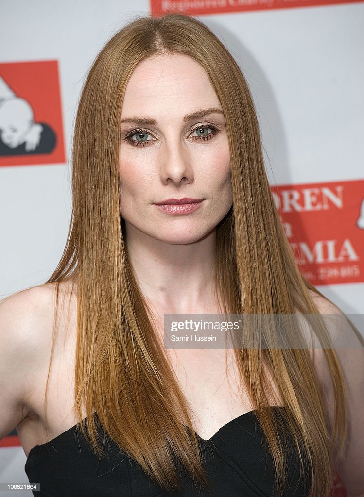 Actress Rosie Marcel attends the Marion Rose Ball in aid of Children with Leukaemia at the Grosvenor House Hotel on Novemer 13, 2010 in London, England.