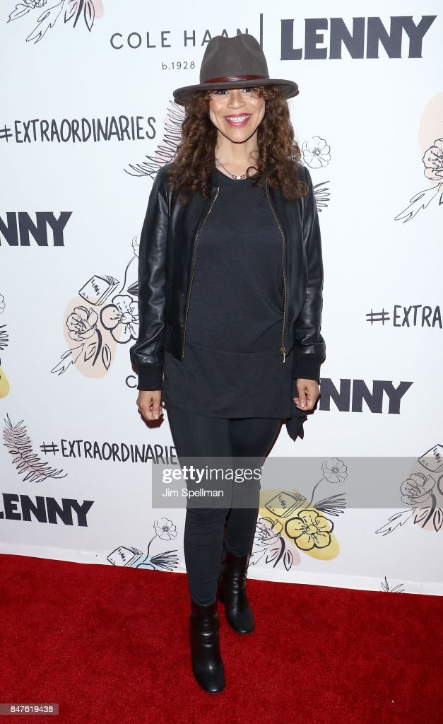 Actress Rosie Perez attends The 2nd Anniversary Party for Lenny, in partnership with Cole Haan at The Jane Hotel on September 15, 2017 in New York City.