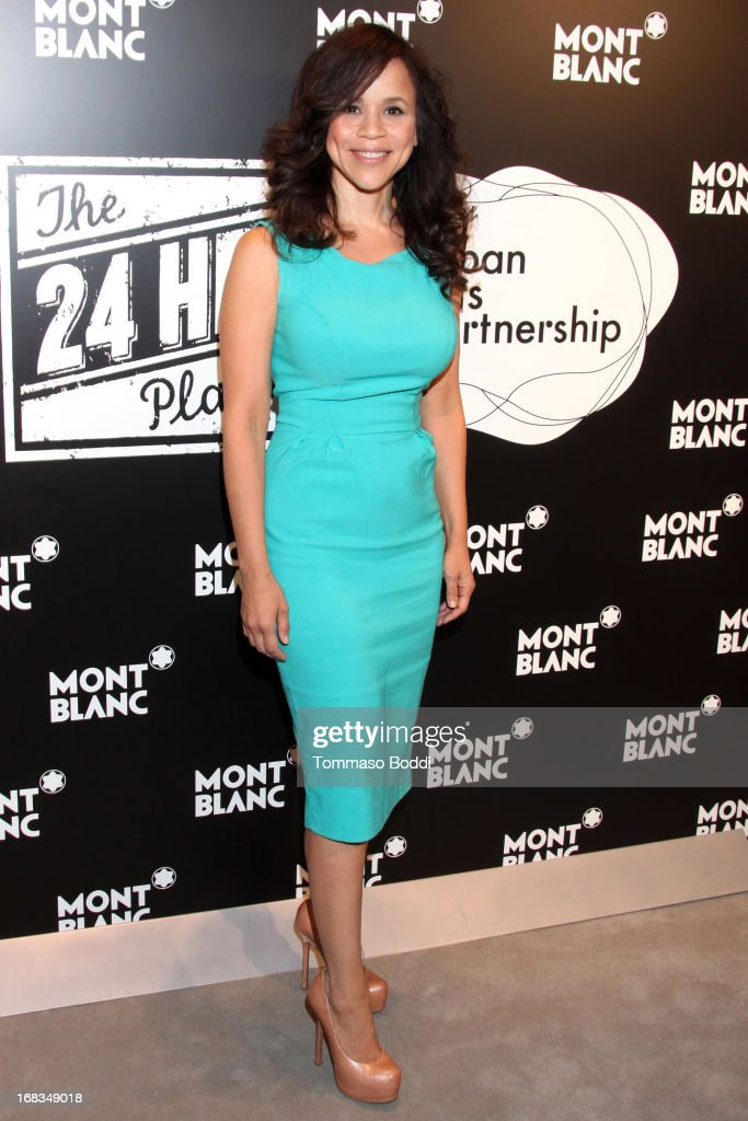 Actress Rosie Perez attends the Montblanc Presents: The 24 Hour Plays 2013 LA cast announcement and kick-off party held at Montblanc Rodeo Drive Boutique on May 8, 2013 in Beverly Hills, California.