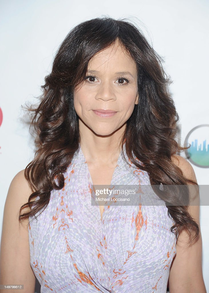 Actress Rosie Perez attends the 'Won't Back Down' screening at NYIT Auditorium on August 3, 2012 in New York City.