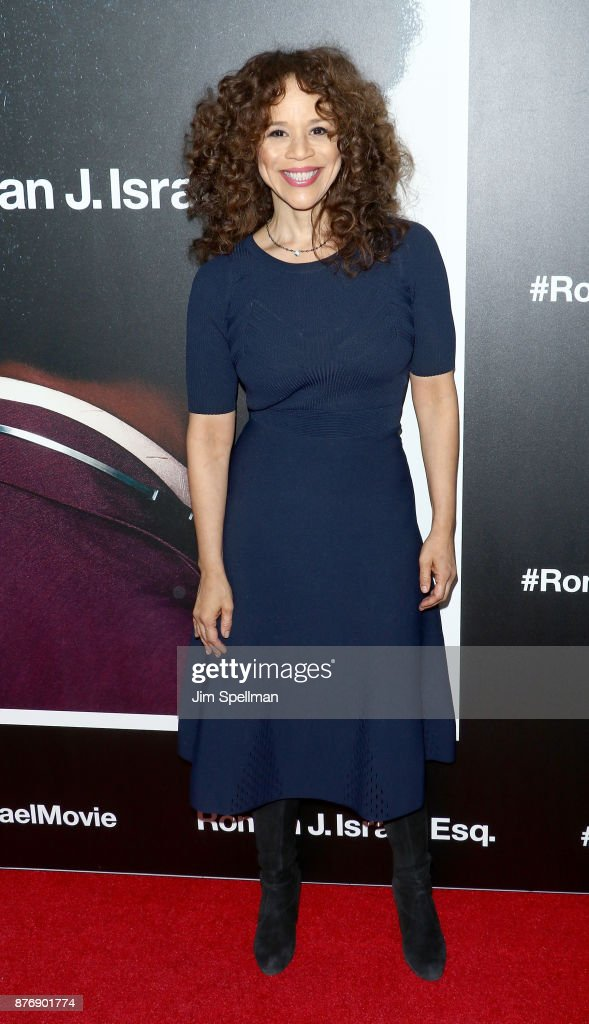 Actress Rosie Perez attends the'Roman J Israel Esquire' New York premiere at Henry R. Luce Auditorium at Brookfield Place on November 20, 2017 in New York City.