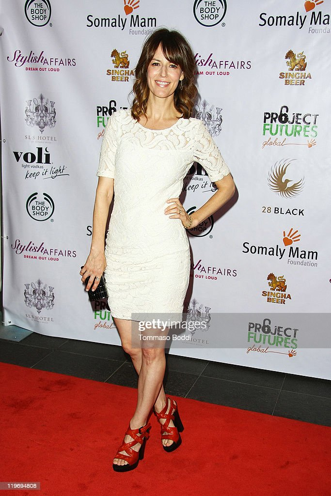 Actress Rosmarie DeWitt attends the Somaly Mam Foundation's Project Futures Global Campaign launch event held at the SLS Hotel on July 23, 2011 in Beverly Hills, California.
