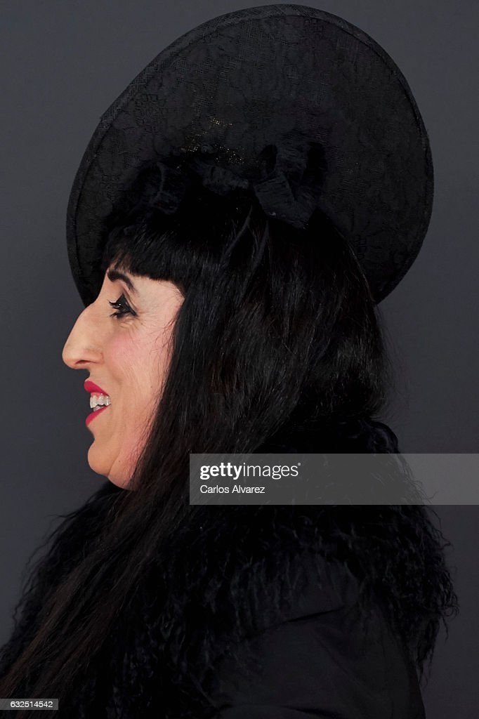 Actress Rossy de Palma attends the Feroz cinema awards 2016 at the Duques de Pastrana Palace on January 23, 2017 in Madrid, Spain.