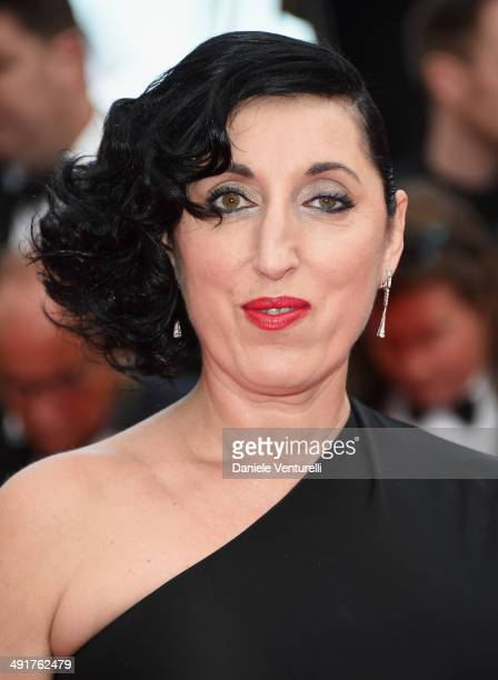 Actress Rossy de Palma attends the 'Saint Laurent' Premiere at the 67th Annual Cannes Film Festival on May 17 2014 in Cannes France