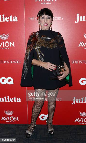 Actress Rossy de Palma attends the screening of Sony Pictures Classics' 'Julieta' hosted by The Cinema Society with Avion and GQ at Landmark Sunshine...