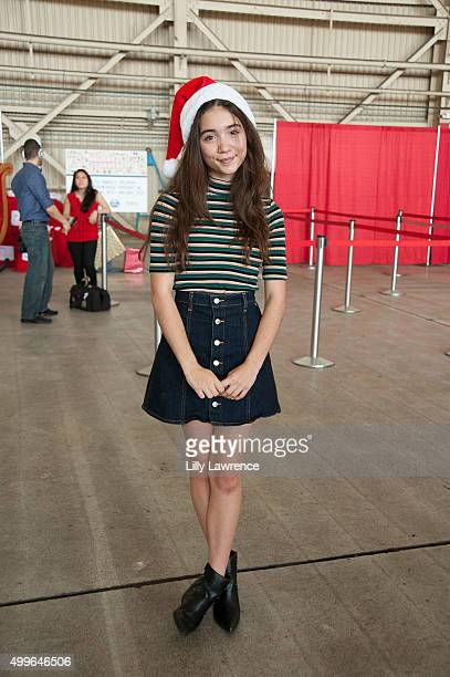 Actress Rowan Blanchard attends 5th Annual Delta Air Lines 'Holiday In The Hangar' with CHLA and PS Arts Youth at LAX at LAX Airport on December 2...