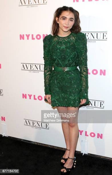 Actress Rowan Blanchard attends NYLON's Annual Young Hollywood May Issue Event at Avenue on May 2 2017 in Los Angeles California