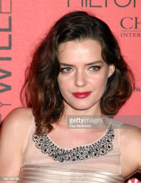 Actress Roxane Mesquida arrives at FGILA's 5th Annual Designer The Muse hosted by Kathy Hilton at Mr C Beverly Hills on October 23 2013 in Beverly...