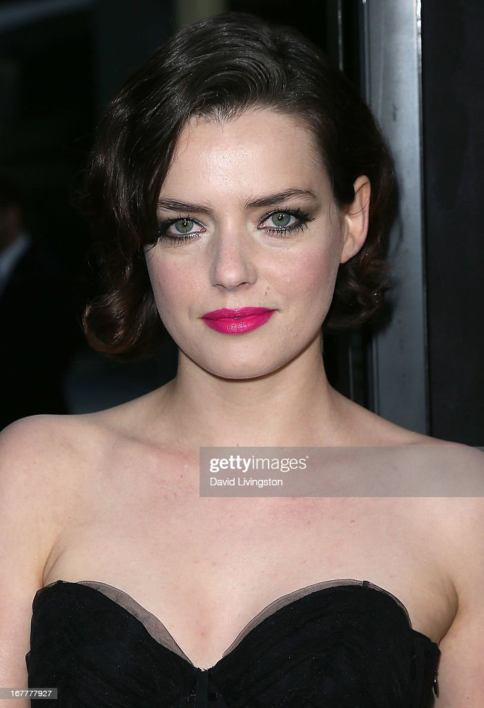 Actress Roxane Mesquida attends a screening of Magnolia Pictures' 'Kiss of the Damned' at ArcLight Cinemas on April 29, 2013 in Hollywood, California.