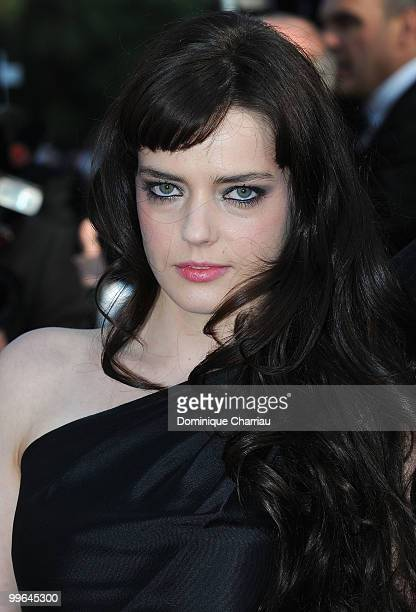 Actress Roxane Mesquida attends the premiere of 'Biutiful' held at the Palais des Festivals during the 63rd Annual International Cannes Film Festival...