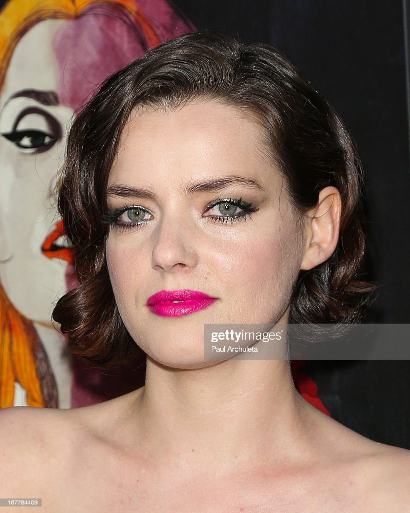 Actress Roxane Mesquida attends the special screening of 'Kiss Of The Damned' at the ArcLight Hollywood on April 29, 2013 in Hollywood, California.