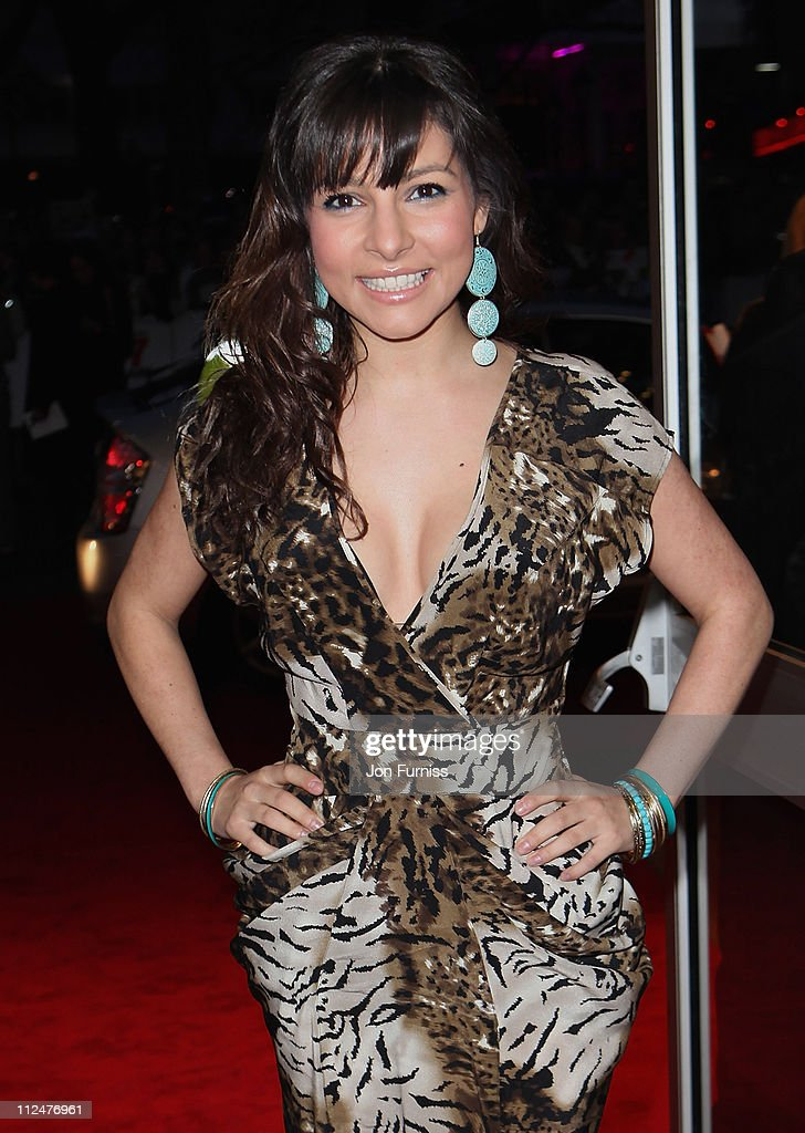 Actress Roxanne Pallett attends the '17 Again' film premiere at the Odeon West End cinema on March 26 2009 in London England