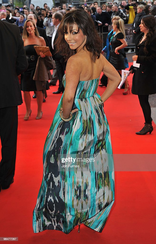 Actress Roxanne Pallett attends 'The Heavy' film premiere at the Odeon West End on April 15 2010 in London England
