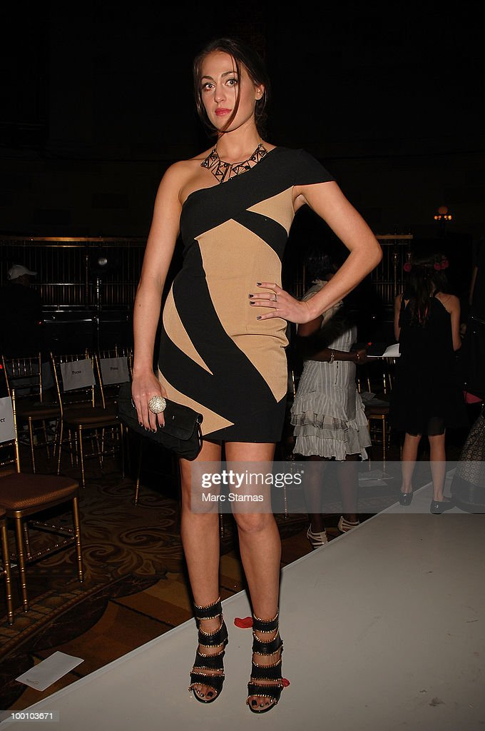 Actress Roxy Olin attends the 9th annual 'Tulips & Pansies: A Headdress Affair' at Gotham Hall on May 20, 2010 in New York City.
